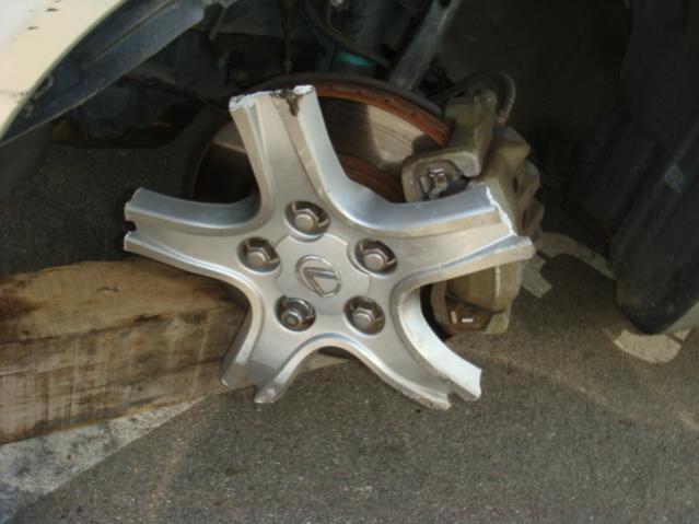 Cracked wheel