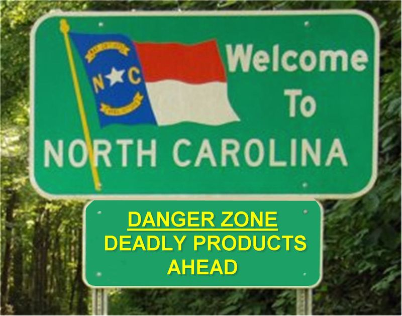 Danger zone deadly products ahead yellow large